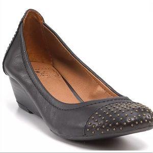 LUCKY BRAND Felony Studded Demi Wedge Shoes